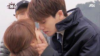 [메이킹] 박보영♥박형식, 로맨틱 첫 키스 (꿈은 이루어진다★) - [parkboyoung,parkhyungsik] thumbnail