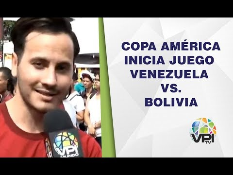 EN VIVO - Inicia Partido Bolivia VS Venezuela