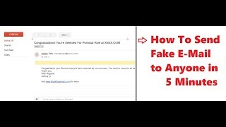 How to Send Fake Anonymous Mail to Anyone in Inbox in 5 minutes