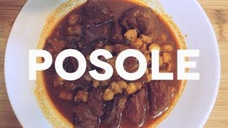 Mexican Food: Posole Recipe - How To Make Posole Rojo