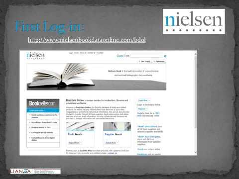 Nielsen (Book Data Online) - Creating Lists