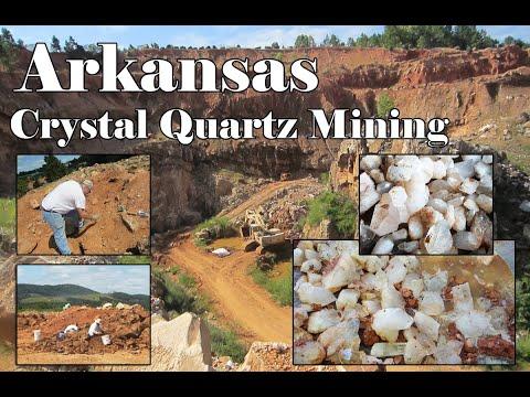 Crystal Quartz Mining Tour In Jessieville, Arkansas
