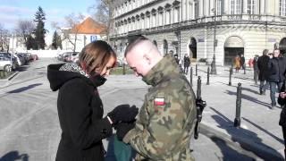 wymarzone zaręczyny z żołnierzem 13.02.11