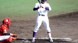 180センチ83キロ 右・右 外野手 1981年9月16日生まれ 三重県出身 vs東芝...