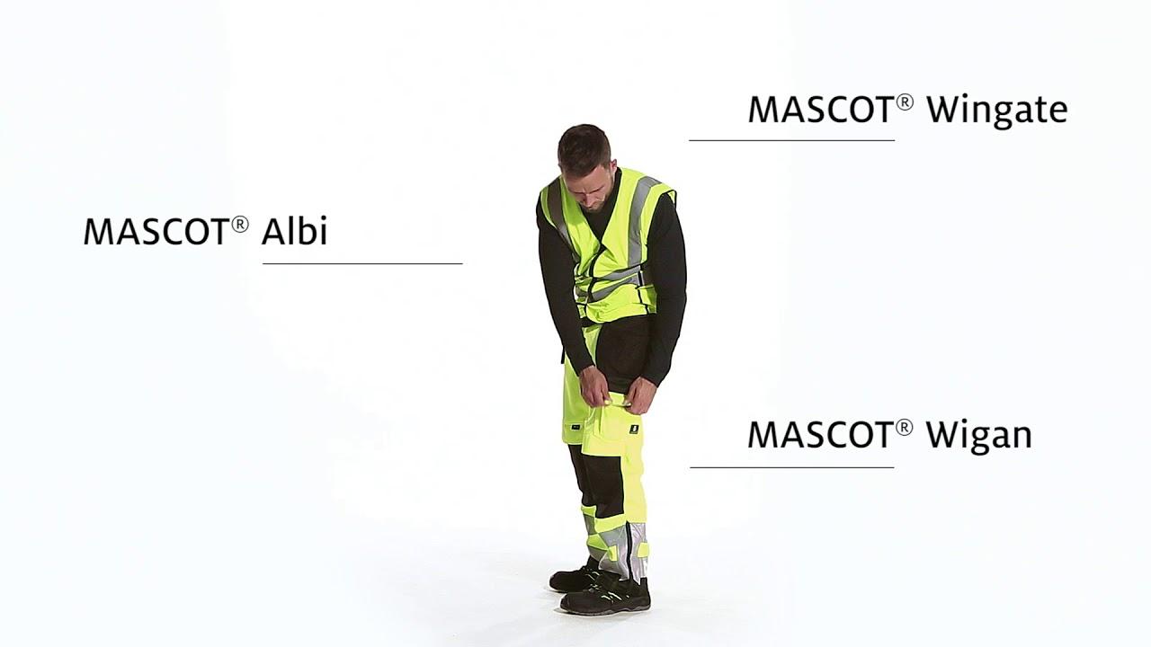 Mascot Workwear Wingate Traffic Vest