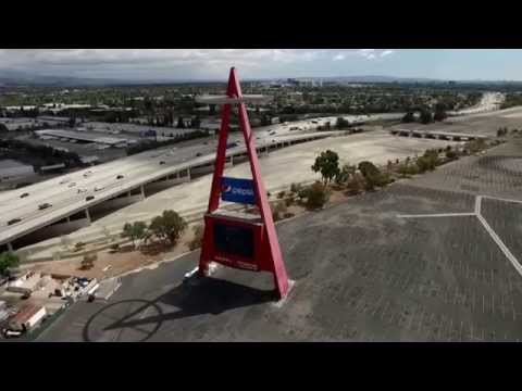 Angel Stadium By Drone