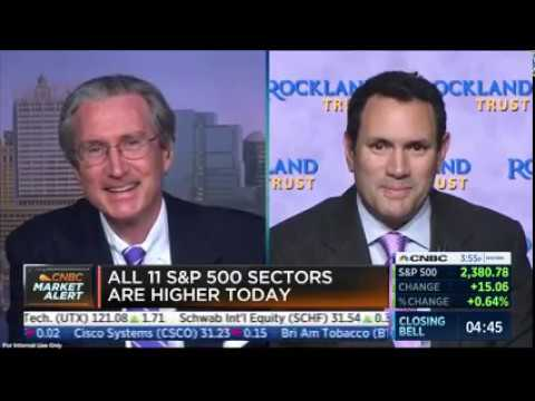 Doug Butler of Rockland Trust Appears on CNBC's Closing Bell