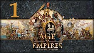"""Прохождение Age of Empires: Definitive Edition #1 - Обучающая кампания """"Восход Египта"""" - Ч.1"""