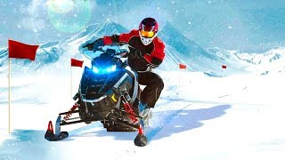 Bike Racing Games - Snow ATV Simulator Mountain Extreme - Gameplay Android free games