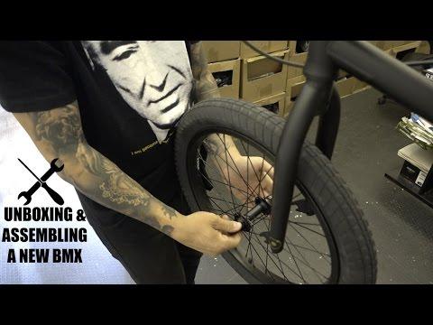 HOW TO ASSEMBLE A BMX BIKE!
