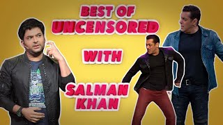 The Kapil Sharma Show - Unlimited Laughter With The 'Dabangg' Khan Uncensored | Salman Khan