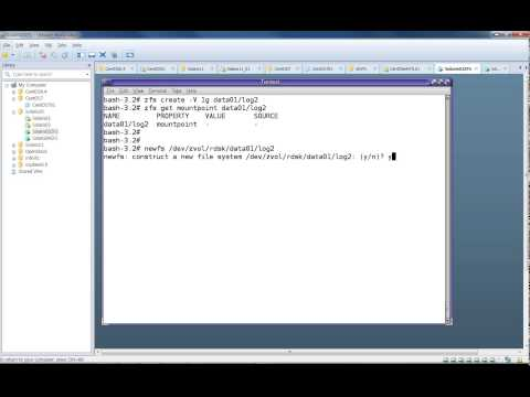 Creating ZFS File System In Solaris 10