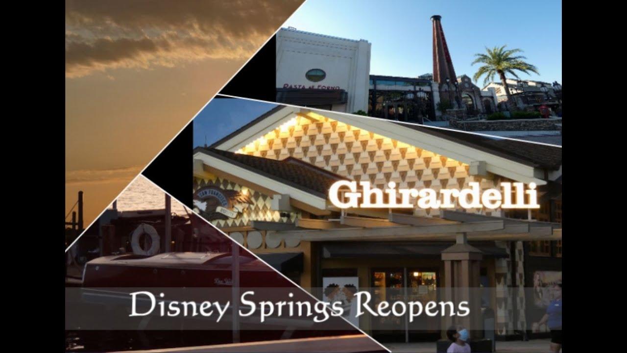 Disney Springs Reopens