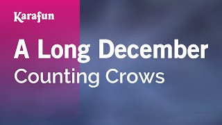 Karaoke A Long December - Counting Crows *