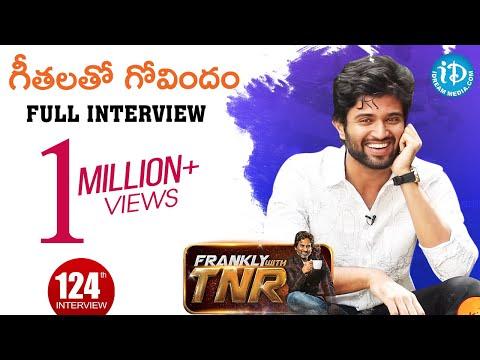 Actor Vijay Devarakonda Exclusive Interview || గీతలతో గోవిందం || Frankly With TNR #124