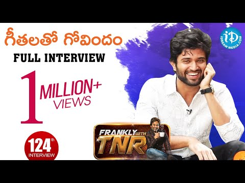 Actor Vijay Devarakonda Exclusive Interview || గీతలతో గోవిందం || Frankly With TNR #124