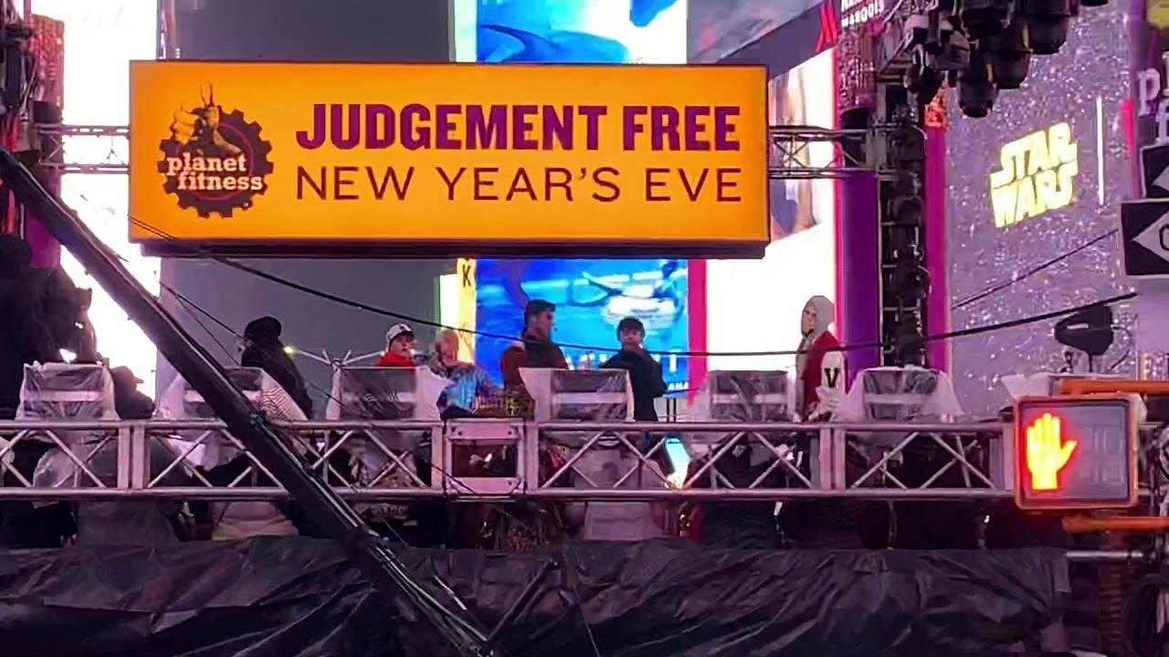 Judgement free new years eve