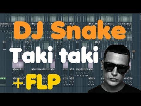 DJ Snake • Taki taki • FL Studio Remake (+FLP download)