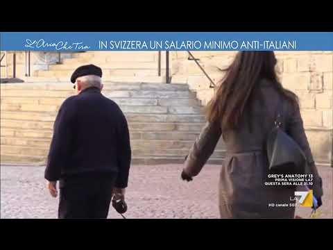 In Svizzera un salario minimo anti-italiani