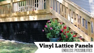 Vinyl Lattice Panels: Endless Possibilities