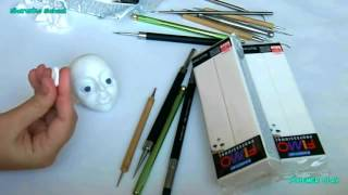 Создаем куклу. Видео урок 2: Моделируем уши.