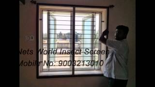 Mosquito Net for Windows & Doors, Insect Screens in Chennai, Netlon, Mosquito Screens