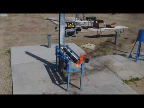 Team Icarus of SDSU Rocket Project Static Hot Fire