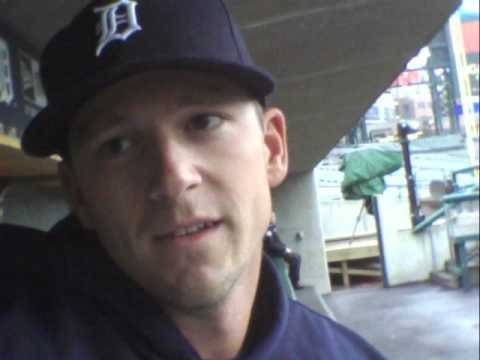 Drew Smyly Detroit Tigers Starter talks about his position in this rotation 4   30   2012