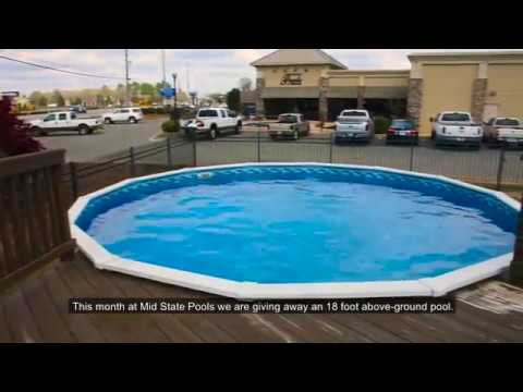 Above Ground Pool Giveaway!