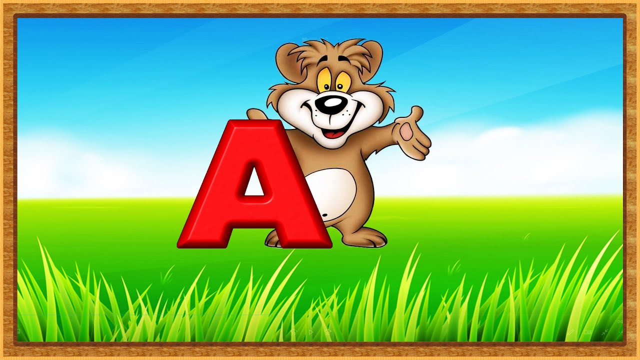 Kids Learning Videos | Alphabets With Phonics | Learning ABC For Kids