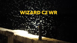 Armytek Wizard C2 WR. Insect reaction to White & Red light