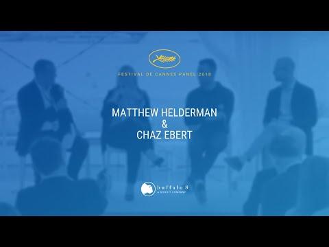 Chaz Ebert  Matthew Helderman  Cannes 2018