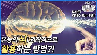 본능의 뇌를 어떻게 잘 활용할 수 있을까? [안될과학 …