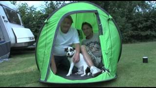 Groeten uit de tent 't Veld 10 aug 2012