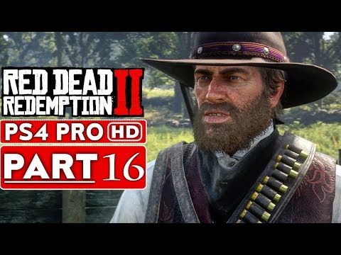 RED DEAD REDEMPTION 2 Gameplay Walkthrough Part 16 [1080p HD PS4 PRO] - No Commentary