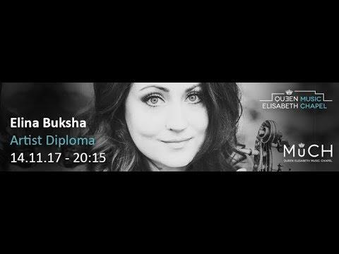 MuCH Music: Elina Buksha - Artist Diploma