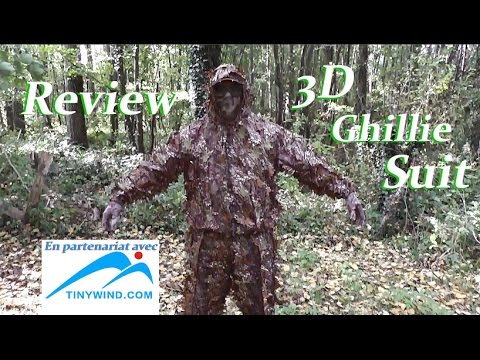 [REVIEW] 3D Leafy Camo Ghillie Suit Dark Woodland ✔ [FR]