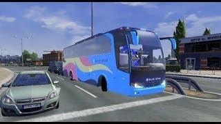 Video ETS2 Mod Bus Pariwisata Bluestar (Bus Mod dengan Livery ala Indonesia) download MP3, 3GP, MP4, WEBM, AVI, FLV Agustus 2018