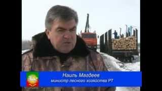 Приезд министра лесного хозяйства