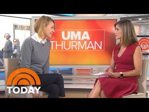 Uma Thurman On 'Burnt,' Efforts To Save Rhinos, Fall Out Boy Tribute | TODAY