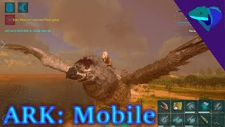 ARGENTAVIS TAMING! WHAT CAN WE CARRY? Ark: Mobile Episode 16