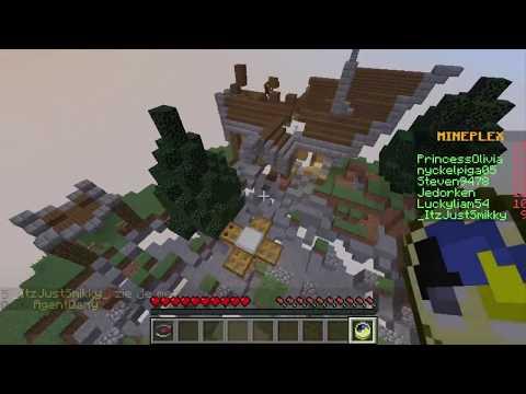 Minecraft : Minigame Mineplex-Arcade รวมมินิเกม