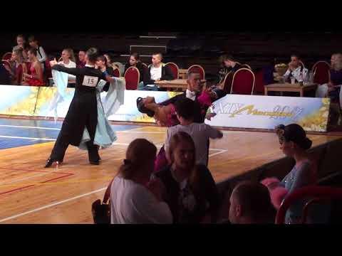 Mstislav Kazakov - Alena Kazakova Final Tango WDSF Open 10 Dance / Moskvich 2017
