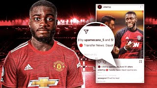 DAYOT UPAMECANO HINTS AT MANCHESTER UNITED MOVE ON INSTAGRAM!? | Transfer Talk