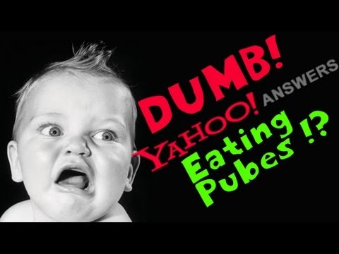 Dumb Yahoo Answers - EATING PUBES! (Black Ops Gameplay)