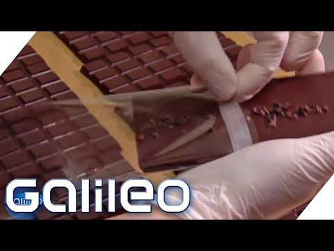 Industrie vs. Handarbeit - Welche Schokolade schmeckt besser? | Galileo | ProSieben