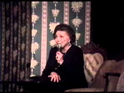 Patricia Neal at the Darress Theatre, May 2000 (Part 1 of 5)