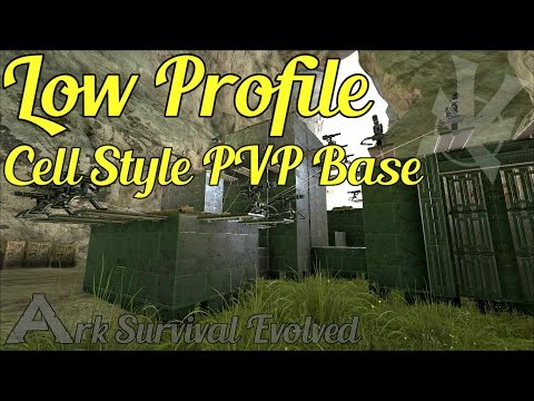 Cell Style Base With Everything! | Low Profile PVP Build Guide | The Center | Ark: Survival Evolved