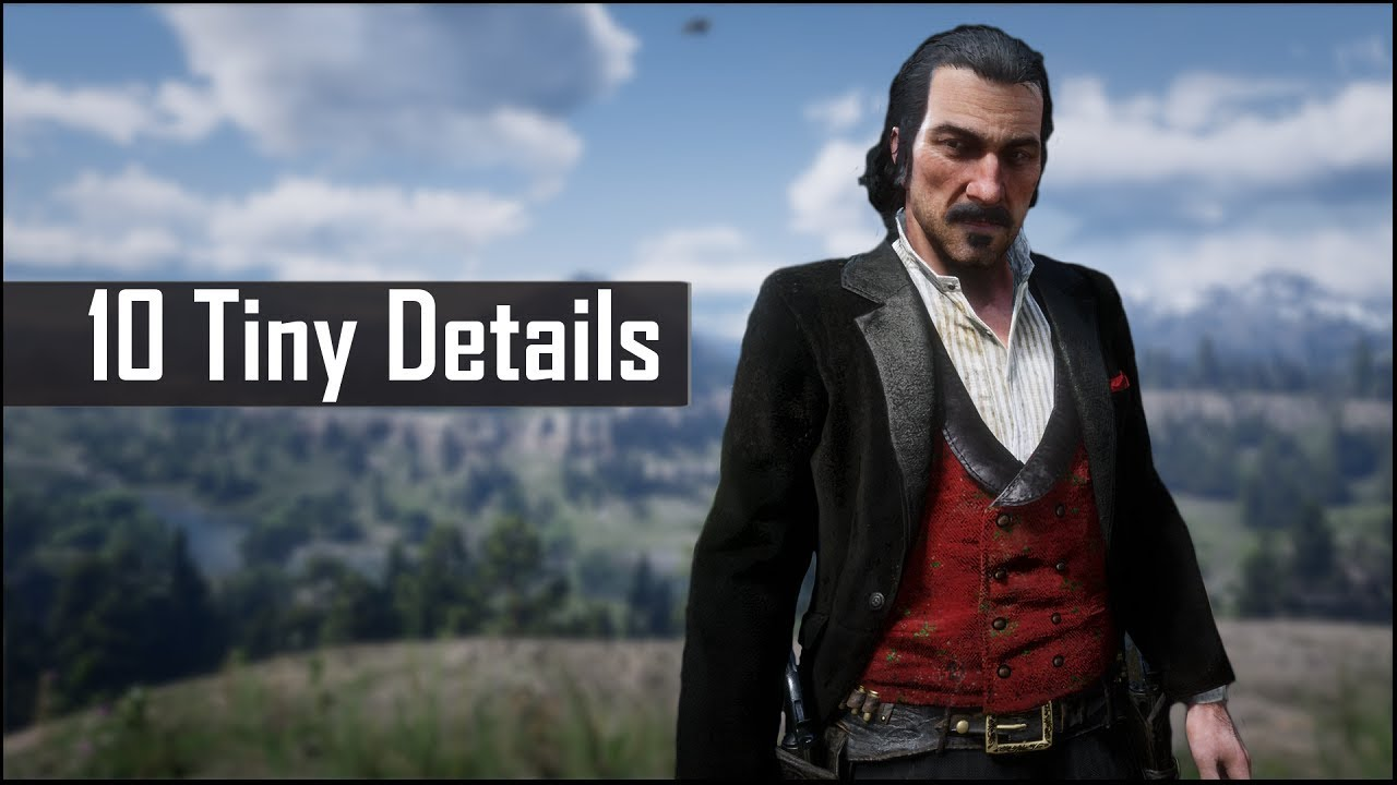 Red Dead Redemption 2 10 Tiny Details You May Have Missed In Red