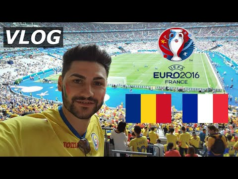ROMANIA - FRANTA 1-2 EURO 2016/ ATMOSFERA SENZATIONALA + GOLURI -MECIUL DE DESCHIDERE / VLOG
